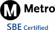 Metro SBE-Certified Logo