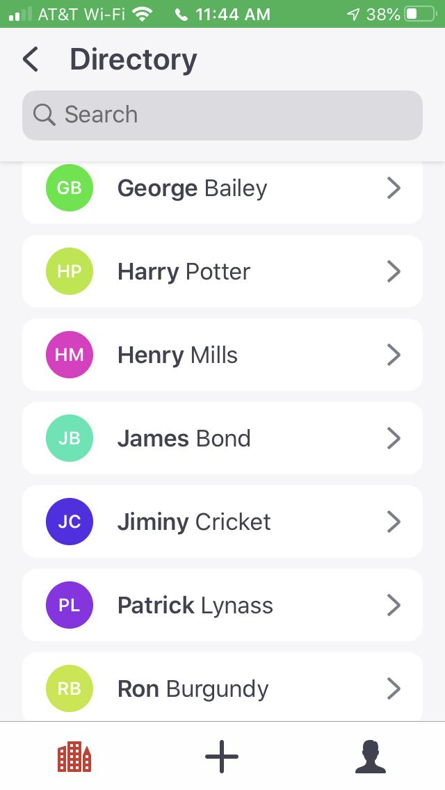Product Screenshot:  Envoy Visitors 3